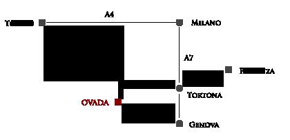 mappa ovada villa paganini